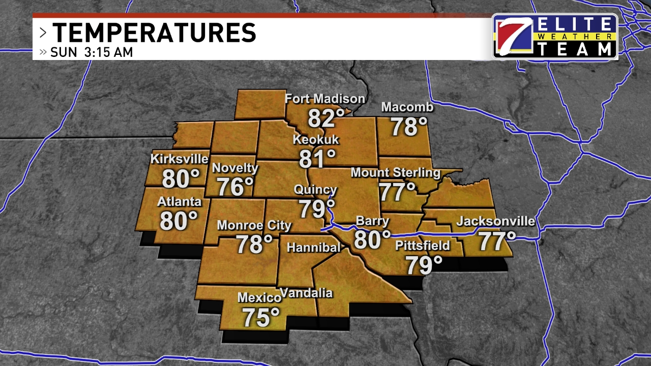 Quincy Weather | News, Weather, Sports, Breaking News | KHQA