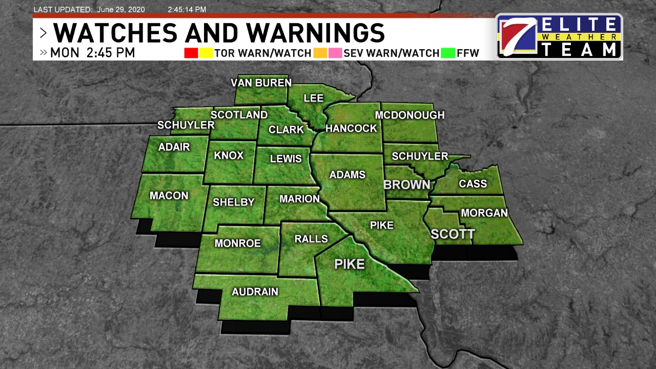 Quincy Illinois Zip Code Map.Quincy Weather News Weather Sports Breaking News Khqa