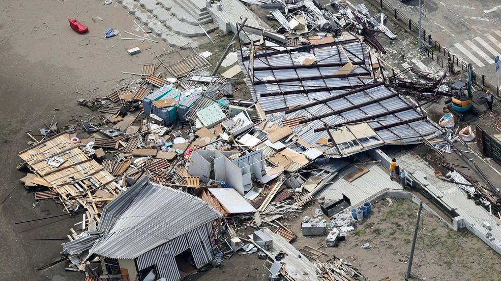 North Korea mobilizes after typhoon as Tokyo gets hit by