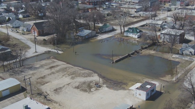 Aerial Tour Shows the Extent of Flooding in Northeast