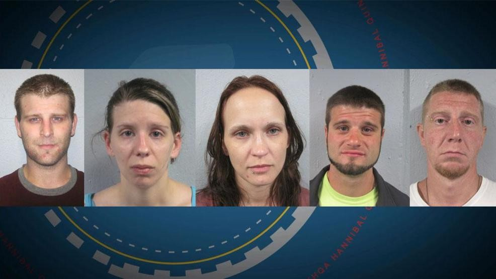 Five arrests made in Hannibal on separate accounts | KHQA