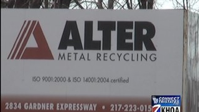 Scrap Metal Prices Up Khqa