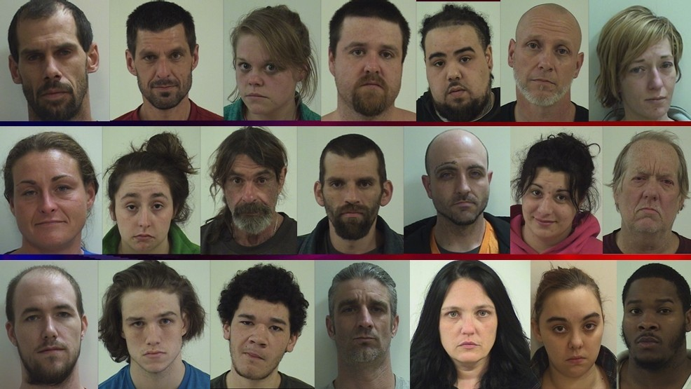 Drug roundup results in 21 arrests in and around Quincy | KHQA