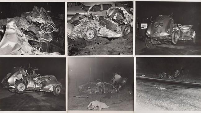 James Dean unpublished crash site photos up for auction | KHQA