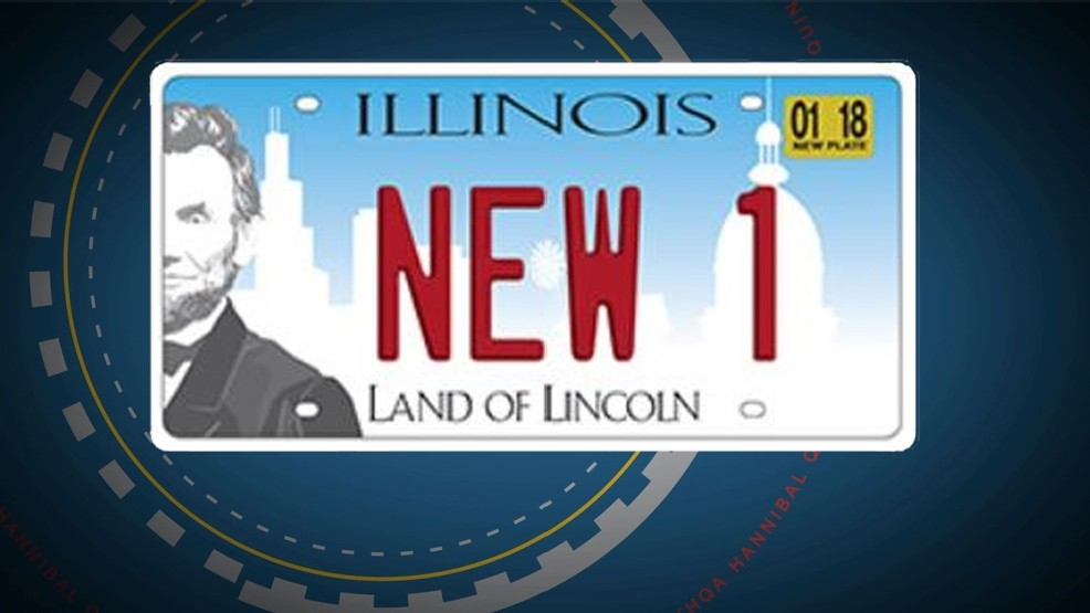 Illinois: License plate replacement program to begin in
